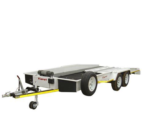 leisure hobby and bike trailers tilt car transporter