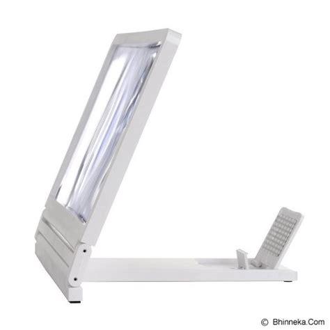 jual lacarla mobile phone screen magnifier glass white