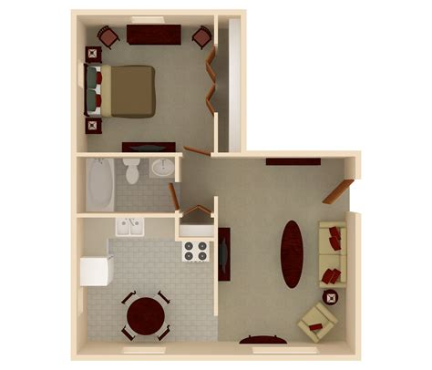 1 bedroom hall kitchen plan 1 2 bedroom apartments for rent lawrence glen apartments