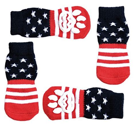 diy traction socks for dogs posch anti slip knit socks for pets with traction soles