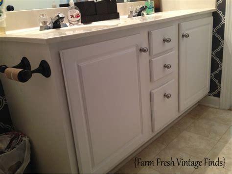 Sloan Bathroom Vanity - how to transform your bathroom vanity farm fresh vintage