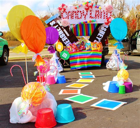 Need Trunk Or Treat Decorating Ideas by Super Simple Trunk Or Treat Ideas Totally The Bomb Com
