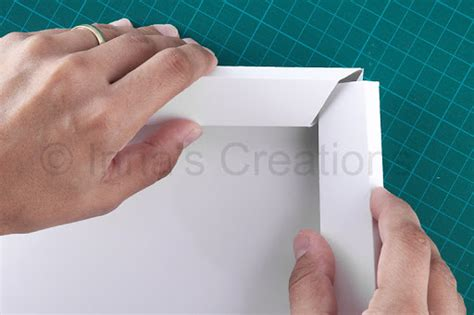 How To Make Picture Frames Out Of Paper - inna s creations how to make a beveled picture frame out