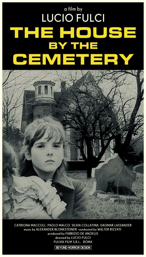 house by the cemetery beyond horror design house by the cemetery lucio fulci 1981
