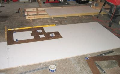 Forming Concrete Countertops Learn How To Form A Concrete Countertop Countertop Template Process