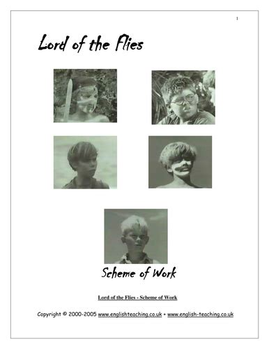 lord of the flies themes tes lord of the flies by william golding year 9 by