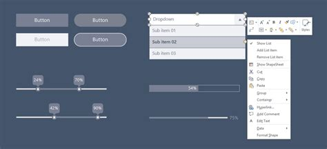 visio progress bar new visio wireframes bring your products to visio