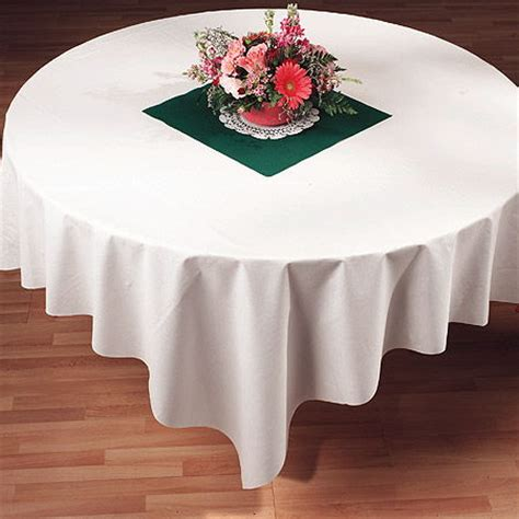 Better Than Linen Table Covers - white linen like paper tablecloths 82 quot bulk my paper shop
