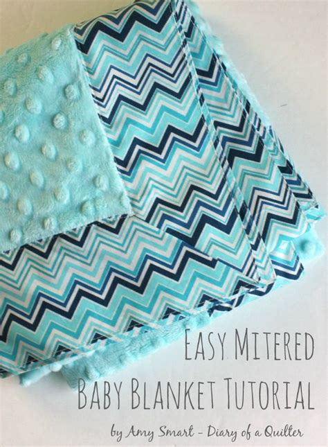 quilting blanket tutorial self binding baby blanket tutorial diary of a quilter