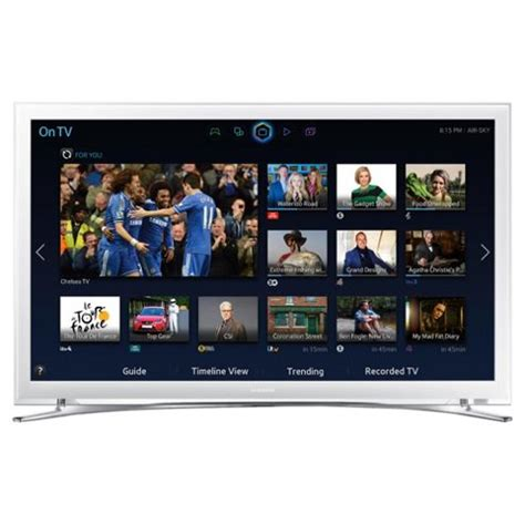 Led Tv Samsung 32 Inch White buy samsung ue32h4510 32 inch smart wifi built in hd ready 720p led tv with freeview hd white