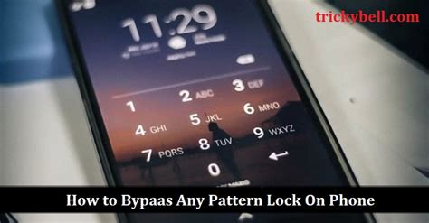 bypass pattern lock android phone a secret trick to bypass any pattern lock on phone