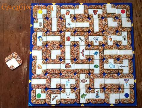 il labirinto gioco da tavolo le regole sono semplici ed immediate e questo 232 un altro