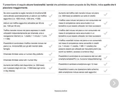 confronta offerte telefonia mobile sky mobile nuovo operatore telefonia 187 sostariffe it