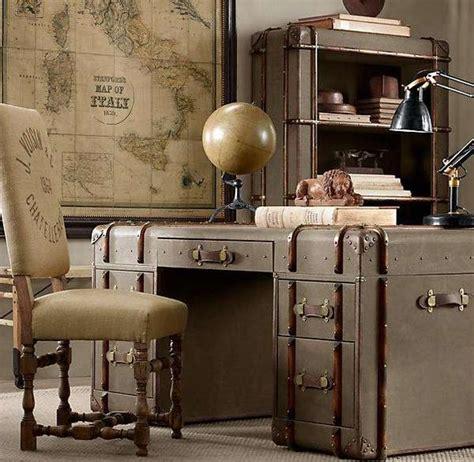 steunk luggage bureaus richards desk