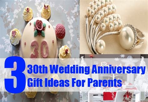 Wedding Anniversary Gift For Parents by 30th Wedding Anniversary Gift Ideas For Parents Pearl
