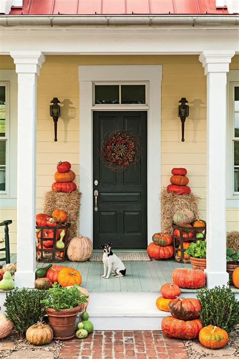 front porches     ready  fall southern living
