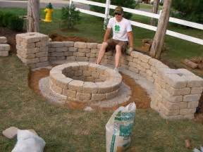 How To Make An Outdoor Firepit I Installed A Pit This Weekend Diy