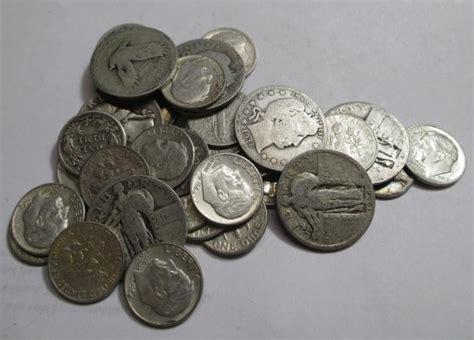 5 face value exact items 90 silver coins