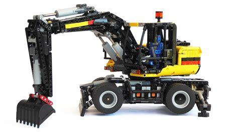 lego technic wheel excavator lego technic wheel excavator