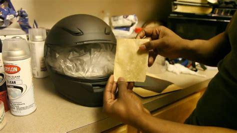 Helm Schwarz Lackieren by How To Prep A Helmet Youtube