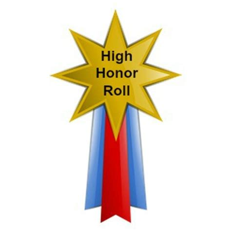 Do They Announce Honors And High Honors Are Mba Graduation by High Honor Roll Grade 5 1st Marking Period 2014 2015