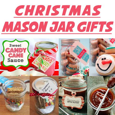 10 diy mason jar christmas gift craft ideas tutorials