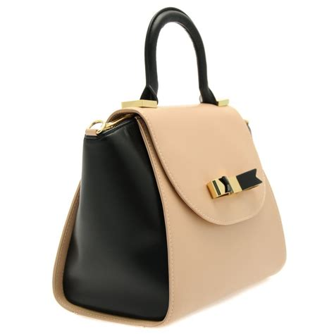 top designer handbags ted baker small leather tote bag