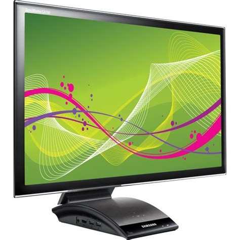 Monitor Led Cpu samsung central station 23 quot led computer monitor c23a750x