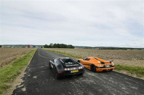 Which Is Faster Bugatti Or Koenigsegg Christian Koenigsegg Races In A Bugatti Veyron Against