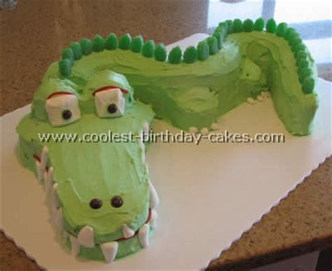 Crocodile Birthday Cake Template coolest crocodile cake photos web s largest