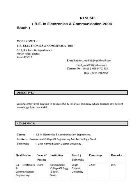 resume templates telecommunication engineer examples telecom samples