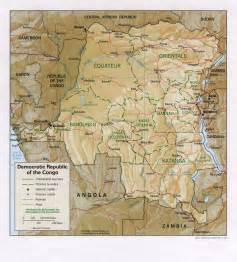 democratic republic congo map newhairstylesformen2014