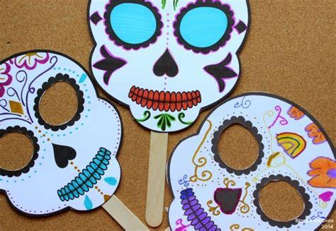 imagenes de calaveras para decorar una mexicana en usa m 225 scara de calaveras de az 250 car para