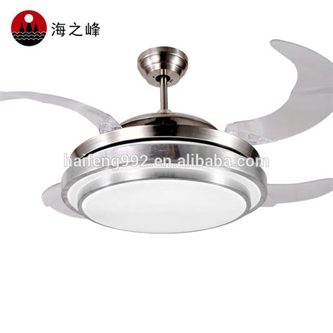 ceiling fans with fabric blades 56w led light ceiling fan with acrylic blades buy
