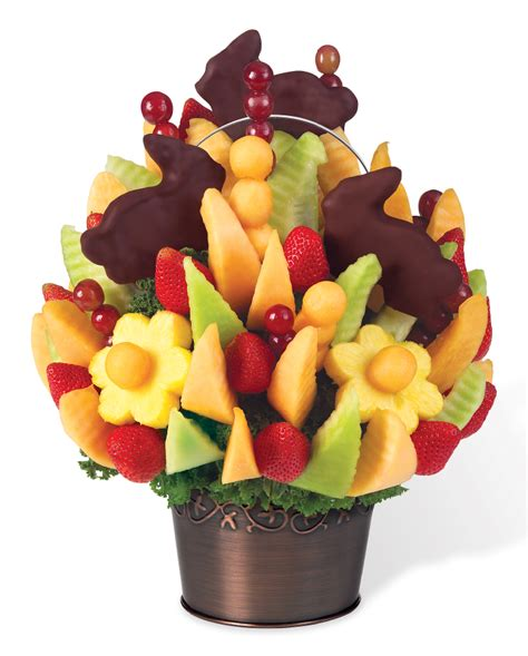 edible arrangement easter bunny celebration