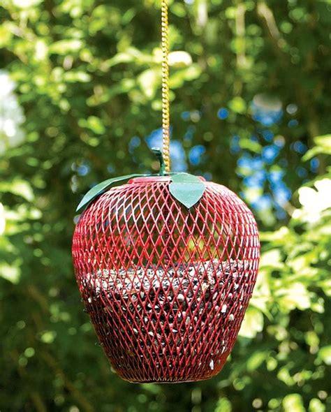 Bird Shaped Bird Feeder apple shaped bird feeder contemporary bird feeders