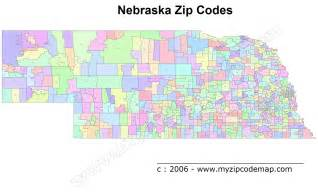 Omaha Zip Code Map by Omaha Nebraska Zip Code