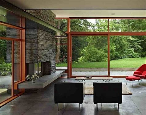 mid century modern and traditional mid century modern design values bringing in nature