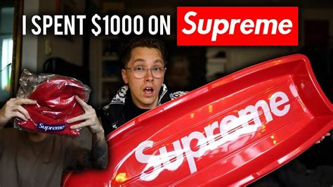 where can i buy supreme how much supreme can you buy with 1000
