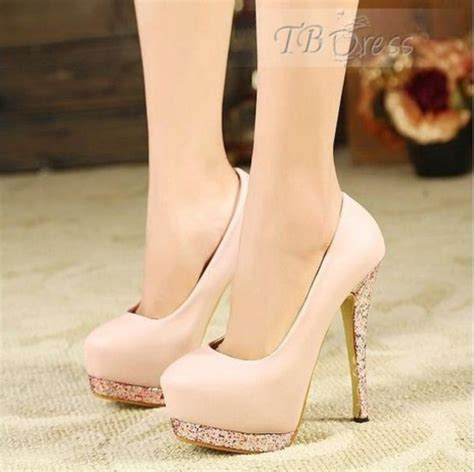 light pink shoes heels shoes light pink light pink blush pink glitter