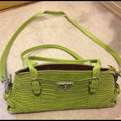 77 handbags imitation prada purse lime green from