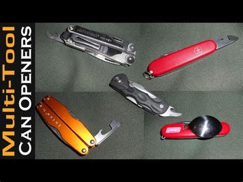 how to use a multi tool how to use multi tool can opener images