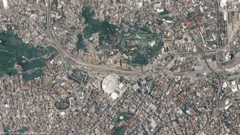 imagenes sorprendentes vistas desde el satelite im 225 genes de sat 233 lite muestran estadios brasile 241 os mundogeo