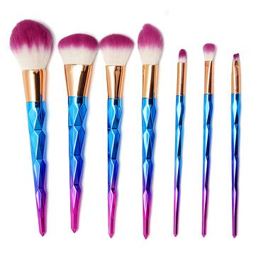 Murah The Shop Tools Blusher Shading Brush 7pcs gorgeous handle makeup brushes cosmetic tools