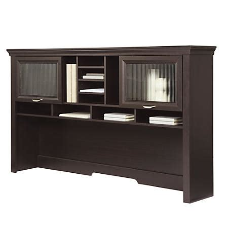 Realspace Desks Realspace Magellan Performance Collection Hutch Espresso