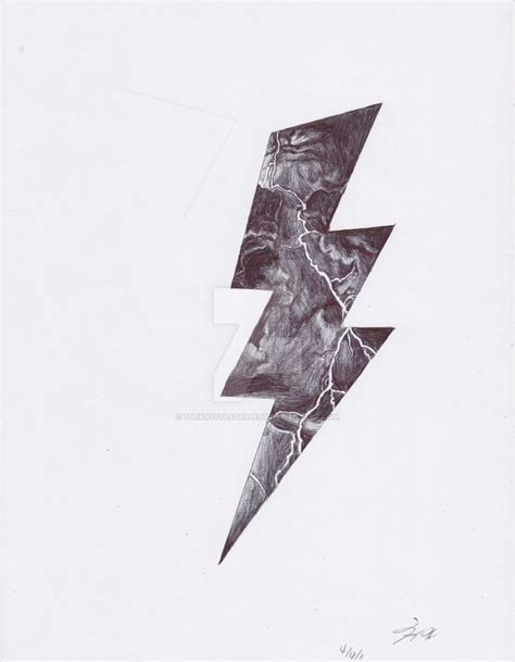tattoo lightning bolt by thekrystlegallery on deviantart