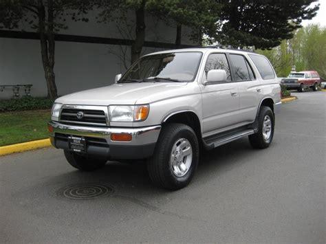 1998 Toyota 4runner Mpg 1998 Toyota 4runner Sr5 4wd Auto Moonroof