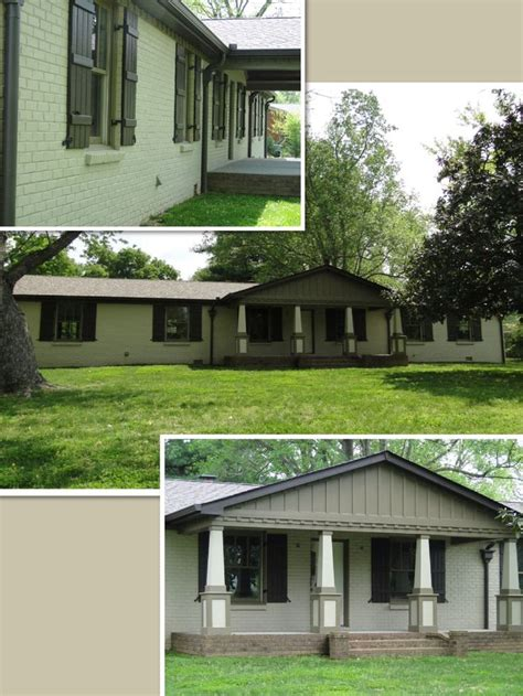 ranch remodel exterior 45 best images about ranch facade remodel on pinterest