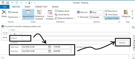 How To Reserve A Room In Outlook by Alliance Technology Associates Inc Step 3 4 Alliance