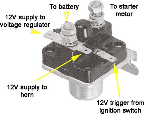 lucas starter solenoid wiring diagram polaris starter